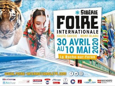 La Foire accueille la Sibérie du 30 avril au 10 mai!