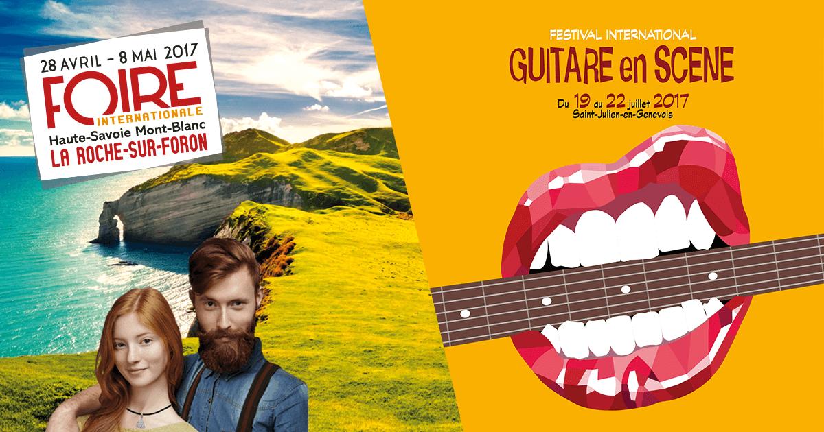 Grand Concours Guitare en Scène Foire Internationale !